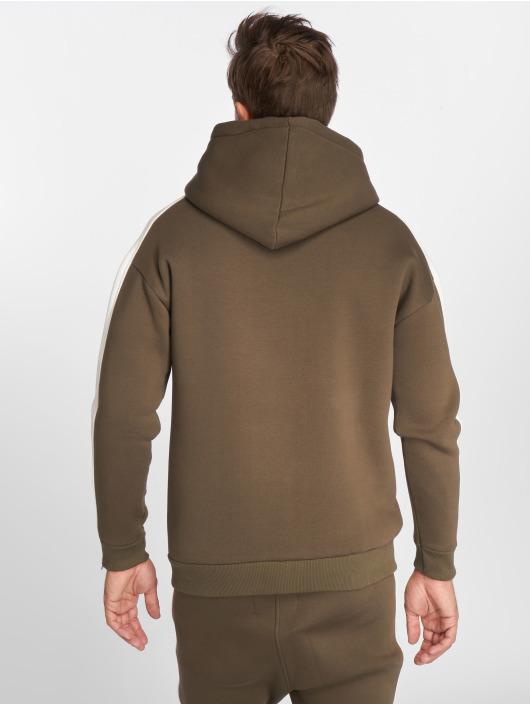 VSCT Clubwear Zip Hoodie Striped kaki