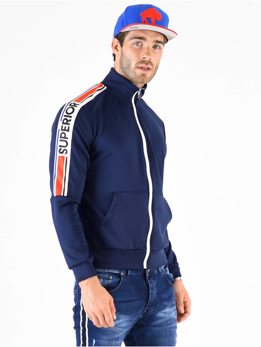 VSCT Clubwear Zip Hoodie Superior modrý