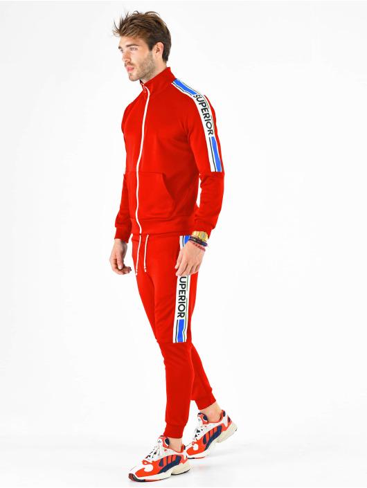 VSCT Clubwear Zip Hoodie Superior röd