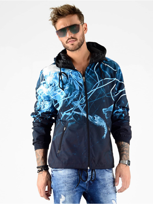 VSCT Clubwear Zomerjas Sealife X-Ray blauw