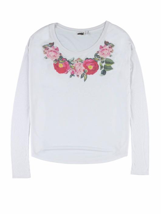Weebit Longsleeve Flower white