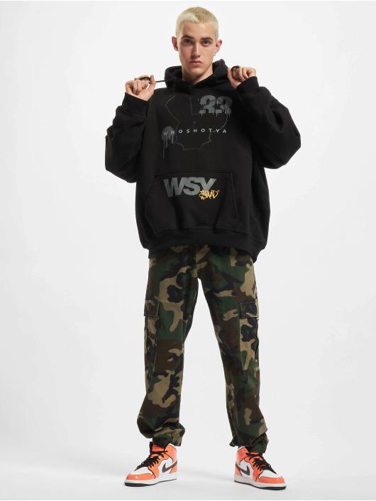 Who Shot Ya? Bluzy z kapturem Squad 2 czarny