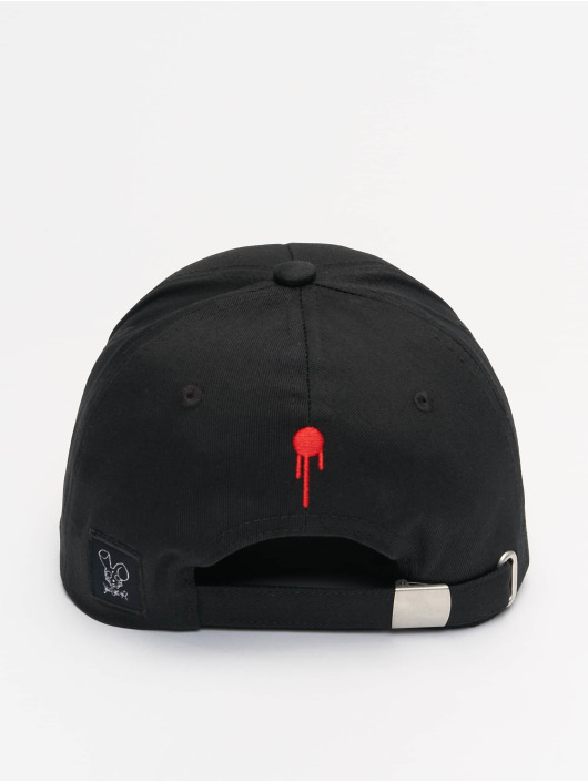 Who Shot Ya? Fitted Cap Sling Daddy schwarz