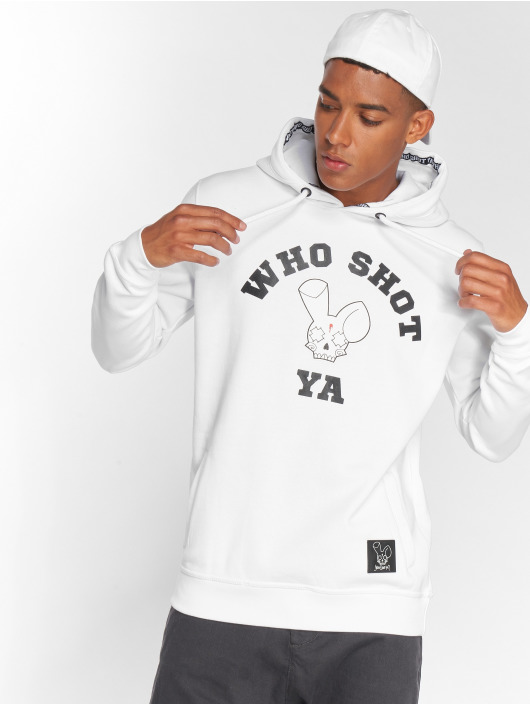 Who Shot Ya? Hoodie Golden W Clan white