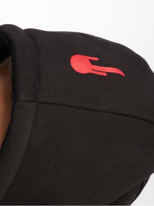 Who Shot Ya? Hoody Logo schwarz