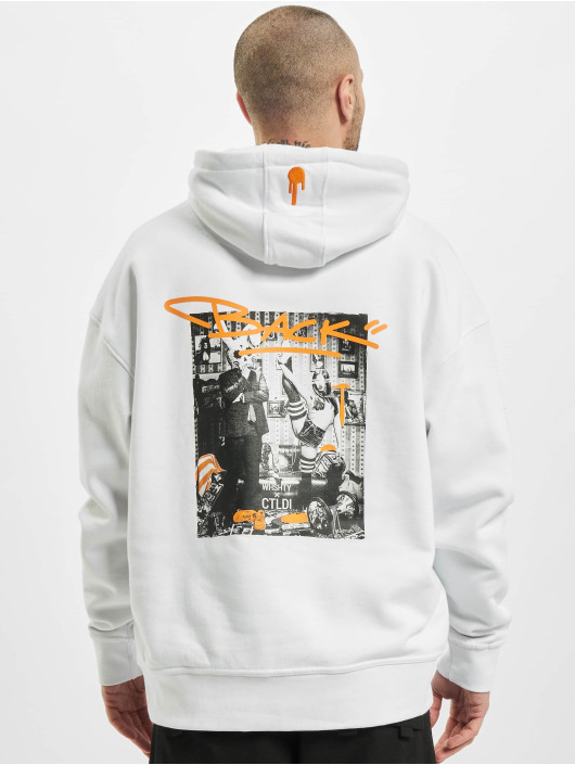 Who Shot Ya? Hoody Story to Tell weiß