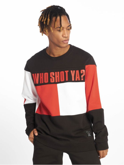 Who Shot Ya? Jumper Block black