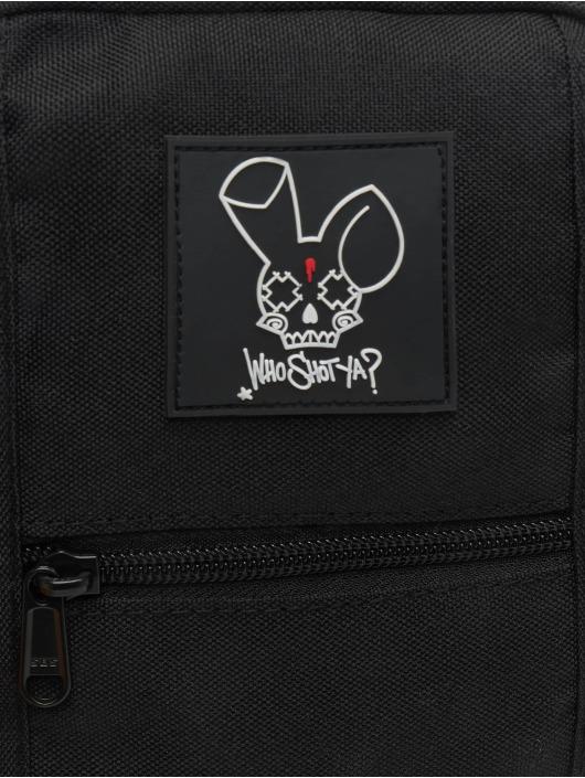 Who Shot Ya? Kabelky Rabbit Crossbody èierna