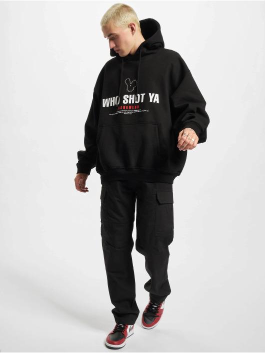 Who Shot Ya? Mikiny Gangwear èierna