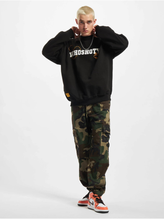 Who Shot Ya? Pullover Squad 2 black