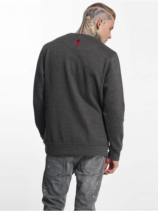 Who Shot Ya? Pullover Dreams gray