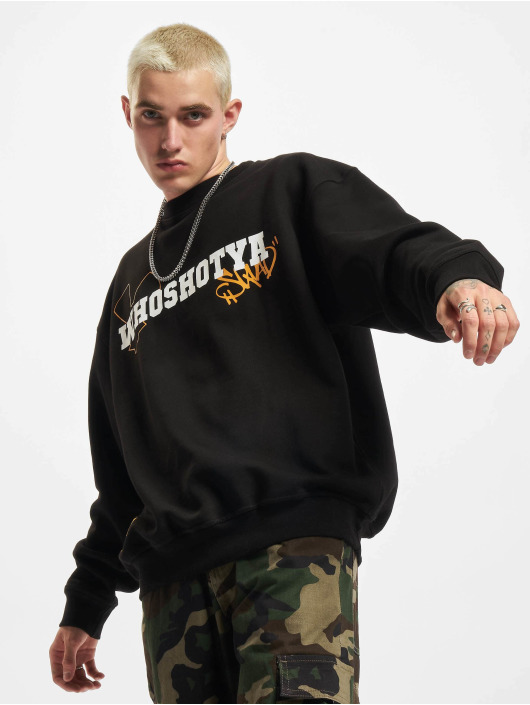 Who Shot Ya? Pullover Squad 2 schwarz
