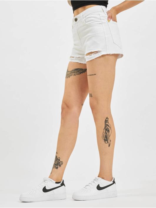Who Shot Ya? Shorts Ice Jeans hvit