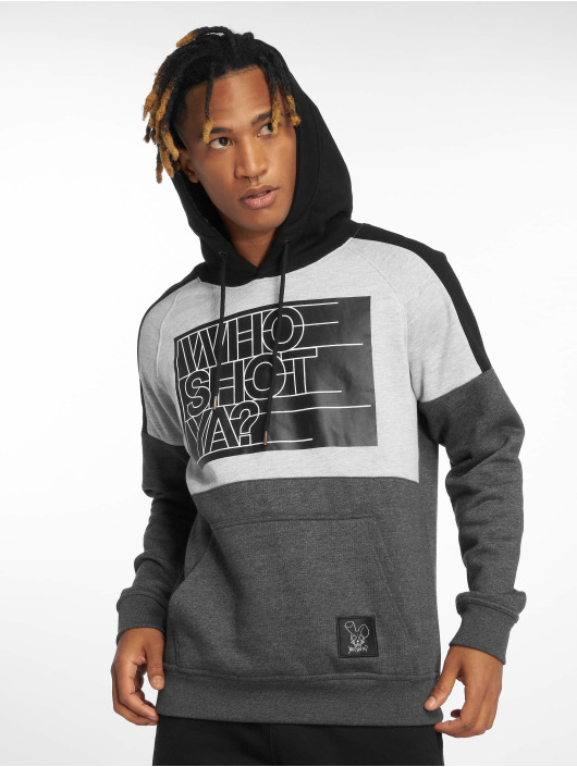 Who Shot Ya? Sweat capuche Sling gris