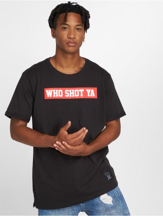 Who Shot Ya? T-Shirt Fresh W black