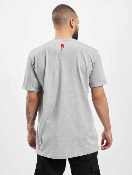 Who Shot Ya? T-Shirt Fresh W grau