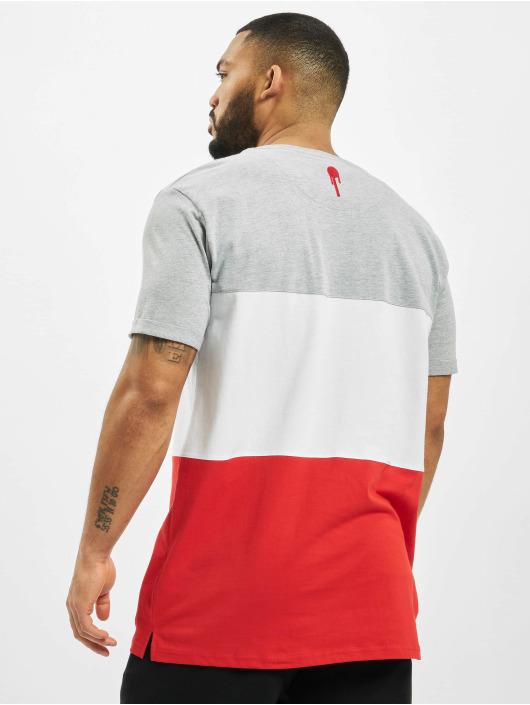 Who Shot Ya? T-Shirt 3Tone grau