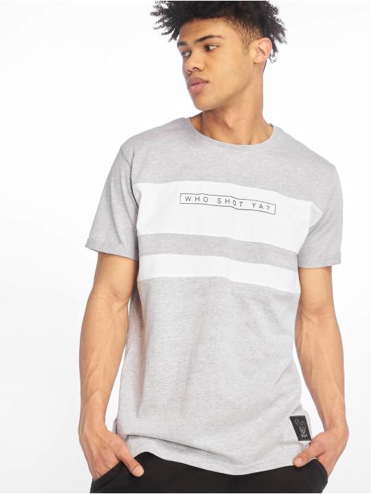 Who Shot Ya? T-Shirt Forse grau