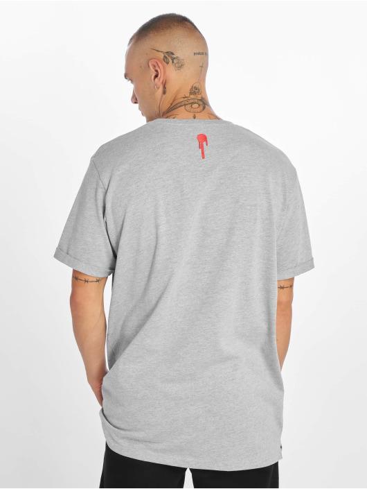 Who Shot Ya? T-Shirt Block grau