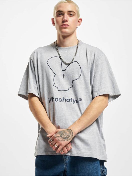 Who Shot Ya? T-Shirt NewLife grau