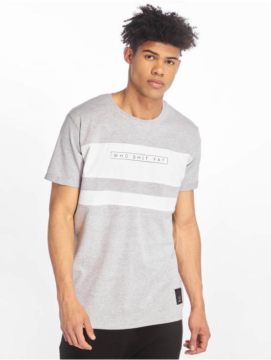 Who Shot Ya? T-Shirt Forse gris