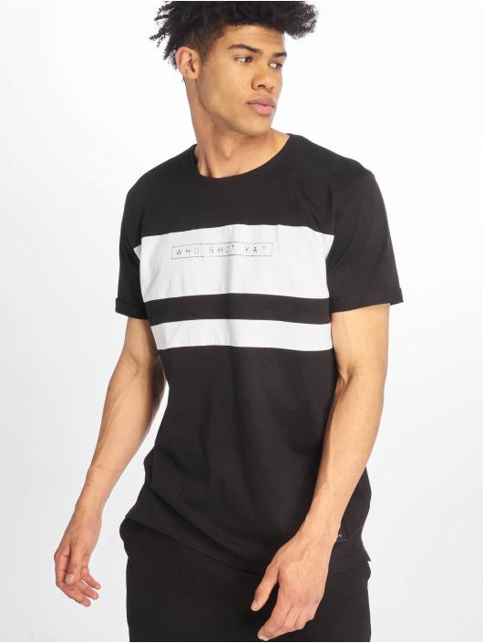 Who Shot Ya? T-Shirt Forse noir