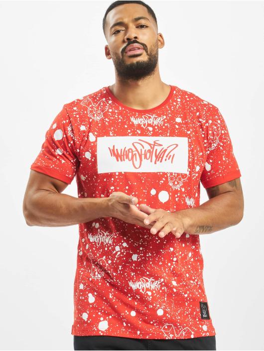 Who Shot Ya? T-Shirt W Zone rot
