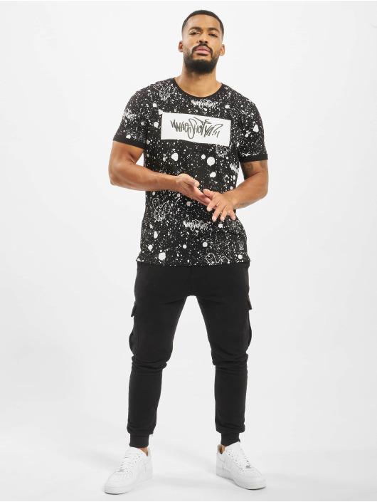 Who Shot Ya? T-Shirt W Zone schwarz