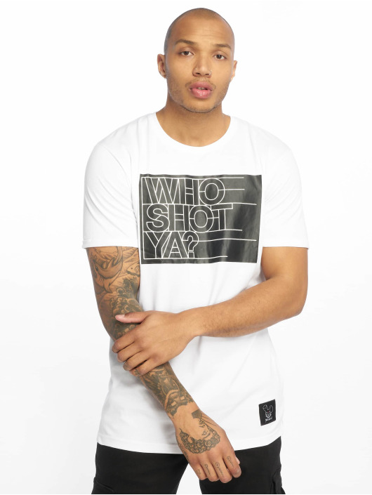 Who Shot Ya? T-Shirt Sling weiß