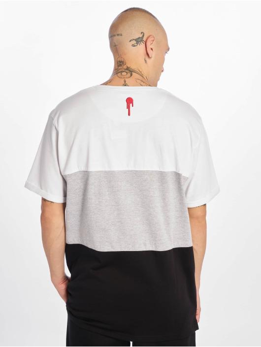 Who Shot Ya? T-Shirt 3Tone weiß