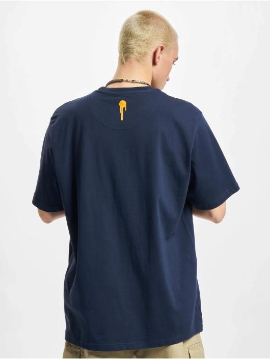 Who Shot Ya? T-skjorter NewLife blå