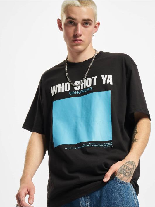 Who Shot Ya? T-skjorter AllADream svart