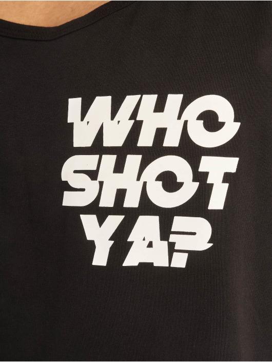 Who Shot Ya? Tank Tops Pearl èierna