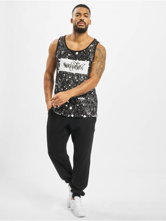 Who Shot Ya? Tank Tops W Zone èierna