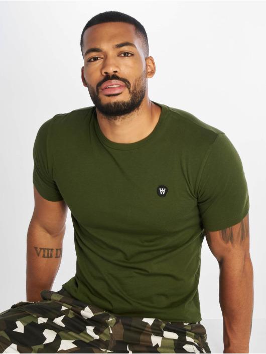 Wood Wood T-shirt Ace grön