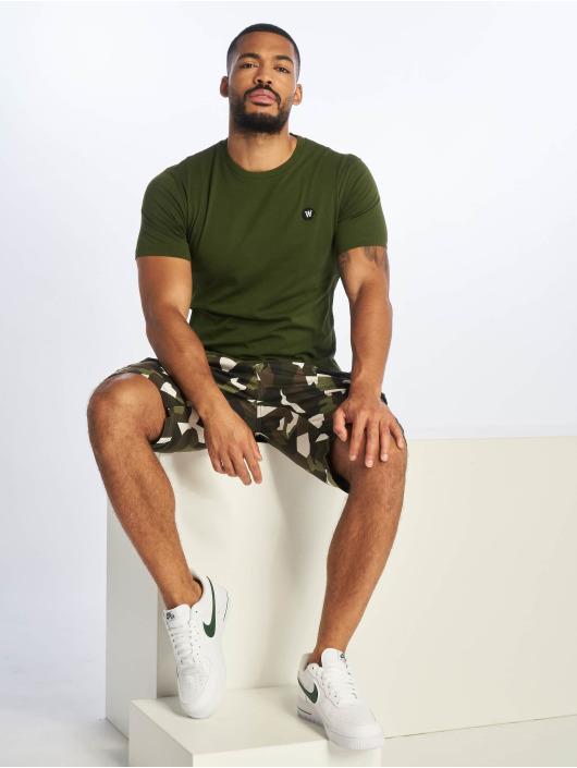 Wood Wood T-Shirt Ace vert