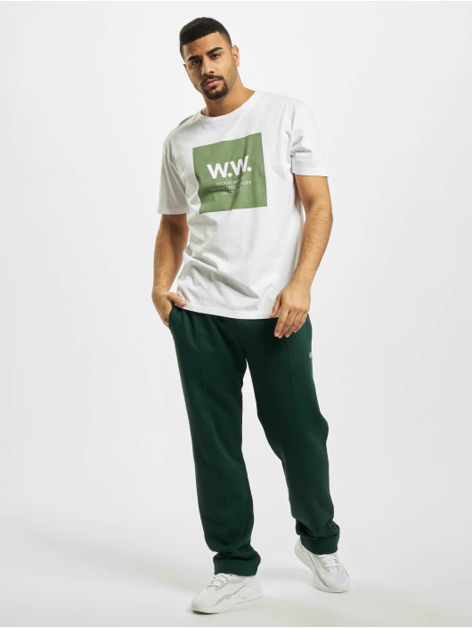 Wood Wood T-Shirt Square weiß