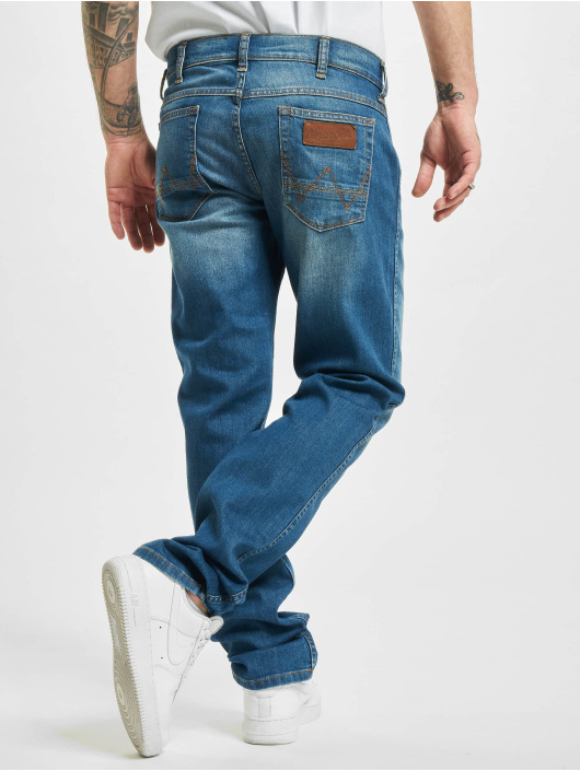 Wrangler Jean coupe droite Sweeat Ride bleu