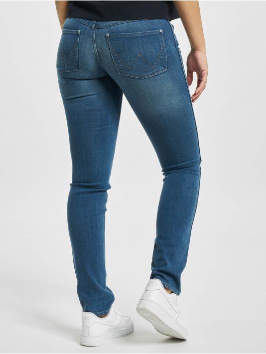 Wrangler Skinny jeans Stretch blauw
