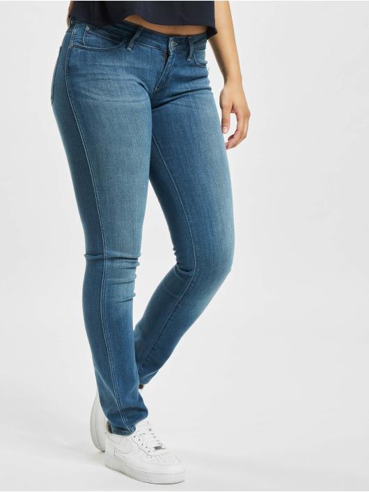 Wrangler Skinny Jeans Stretch niebieski