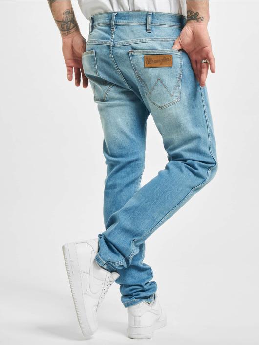 Wrangler Straight Fit Jeans Counter Shade blå