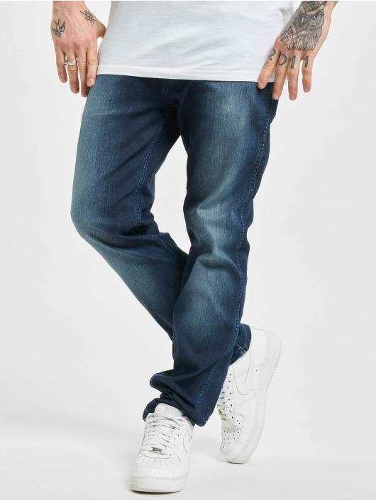 Wrangler Straight Fit Jeans Easy Brushed blå
