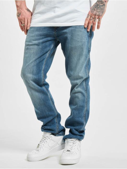 Wrangler Straight Fit Jeans Blue What Blue blau