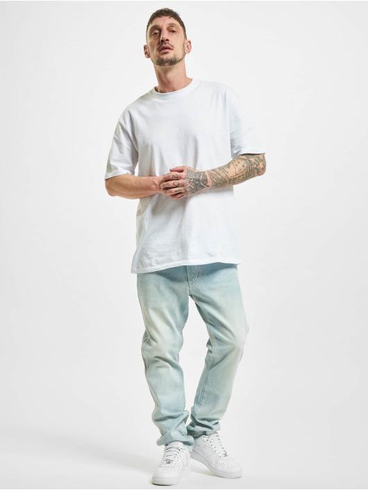 Wrangler Straight Fit Jeans Slider blau