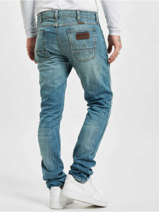 Wrangler Straight fit jeans Bostin blauw