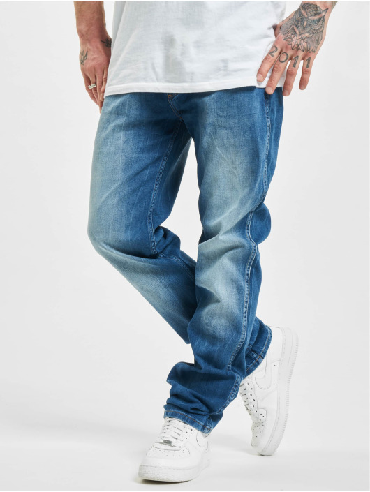 Wrangler Straight Fit Jeans All Blue blue