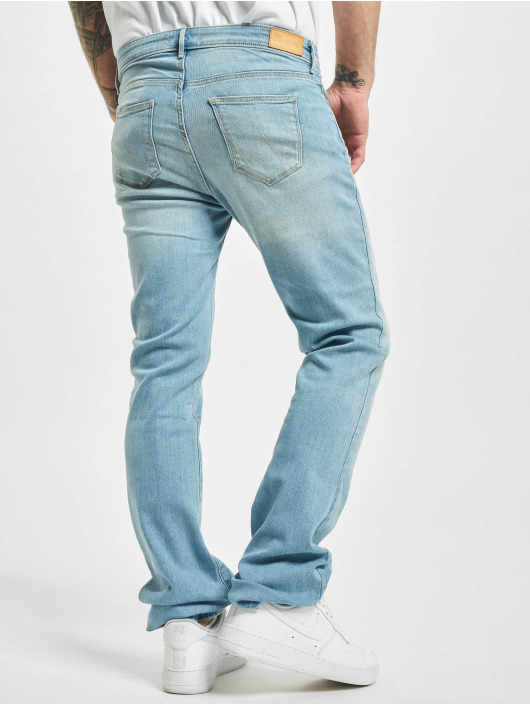 Wrangler Straight Fit Jeans Summer Feeling modrý