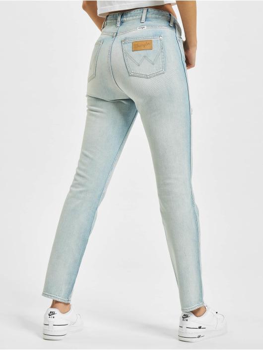 Wrangler Straight Fit Jeans Retro modrý