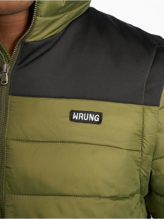 Wrung Division Стеганая куртка Division Lamon хаки