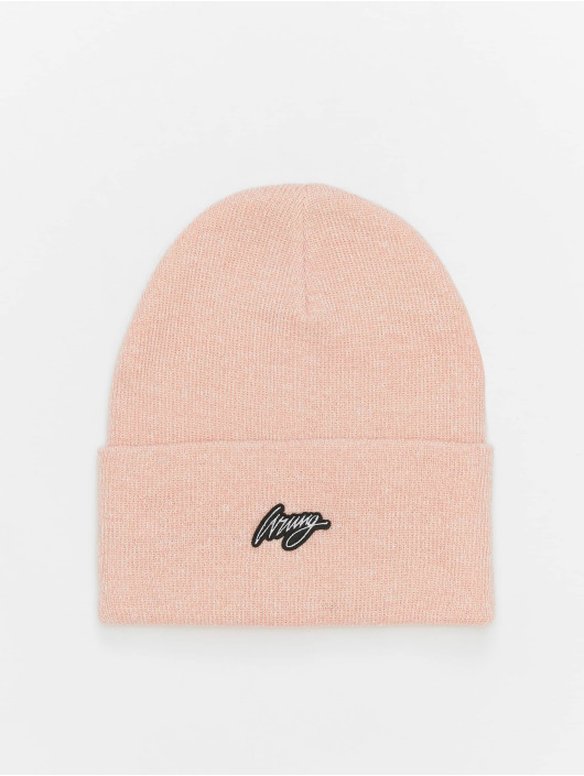 Wrung Division Beanie Trill pink